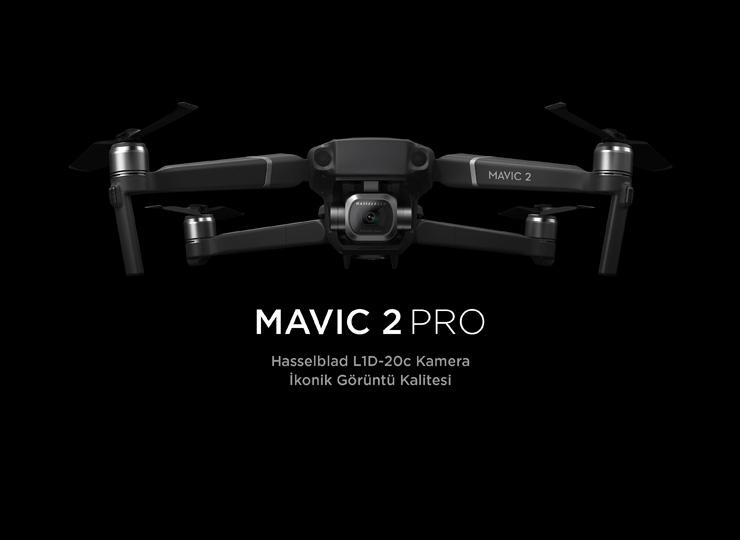 DJI yeni drone modeli Mavic 2 Pro'yu tanıttı