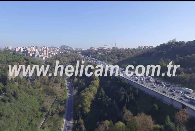 Fsm Köprüsü Havadan Stok Video