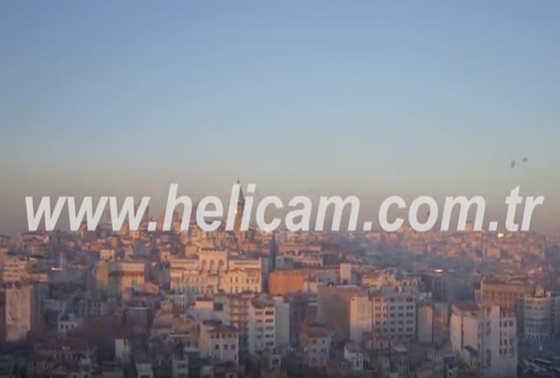 Galata Kulesi Stok Video