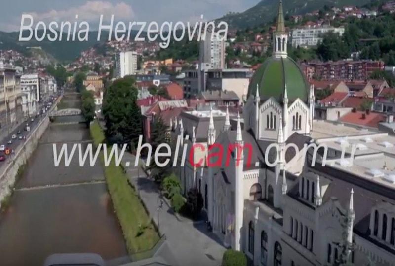 Bosna Hersek Stok Video