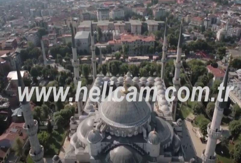 Sultan Ahmet Camii Stok Video